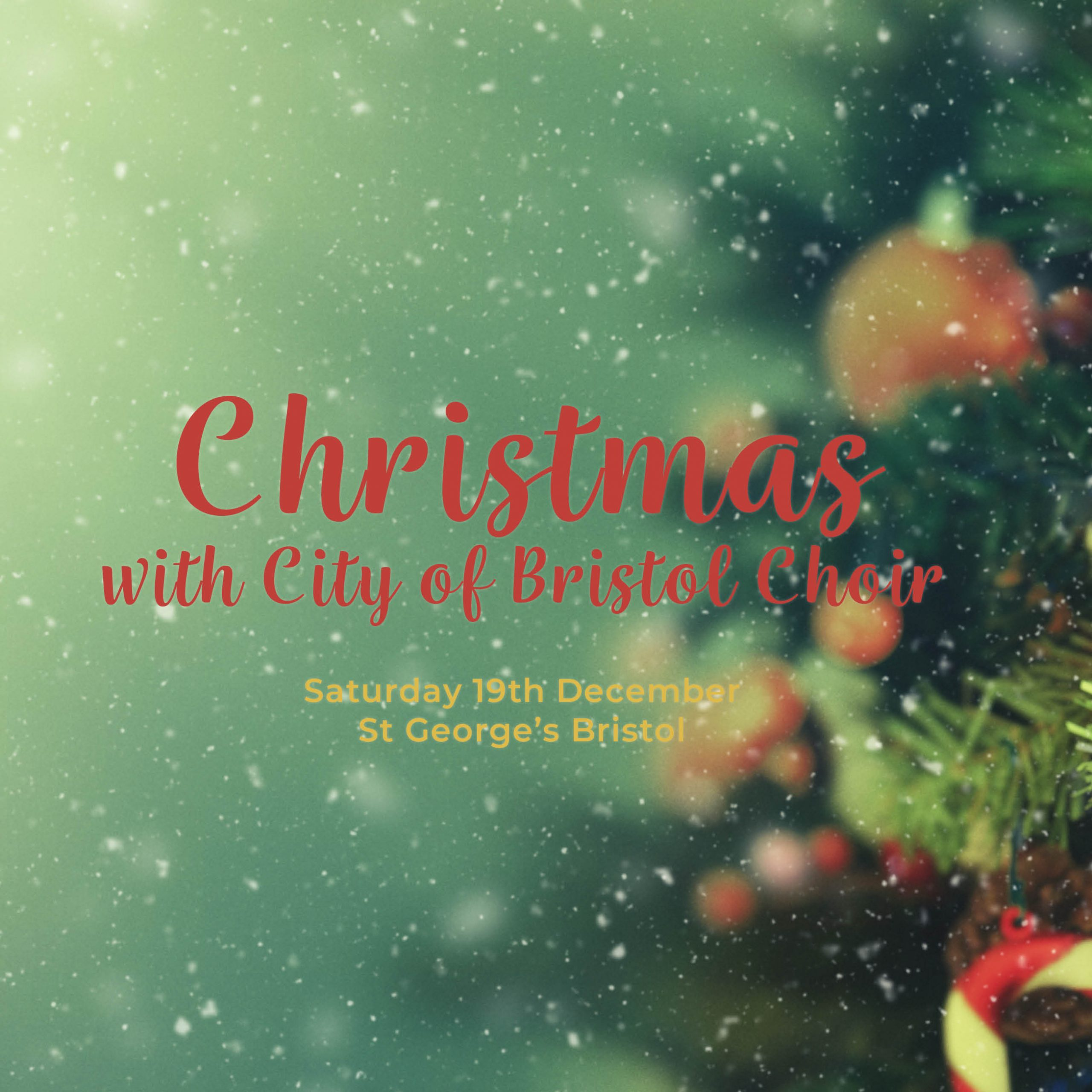 Christmas with City of Bristol Choir